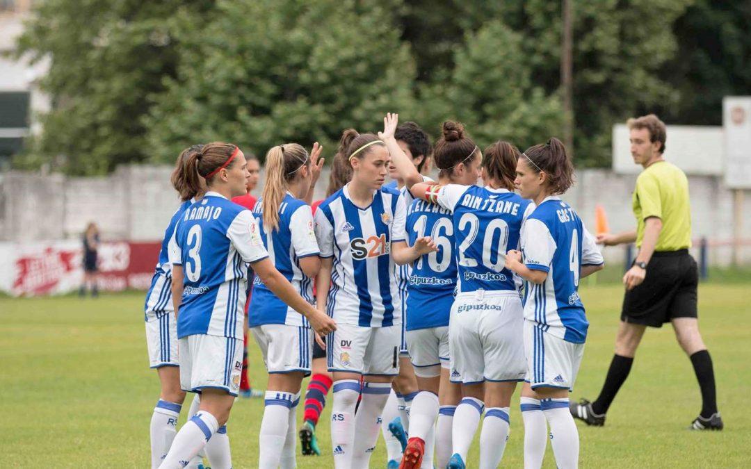 Reala finalera, Gasteizko Aurrera 12-0 gainditu ondoren
