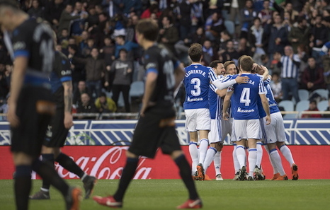 Real Sociedad 2-Alaves 1: Erreala txapelketako finalari begira