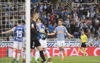Reala 3-Athletic 1: Reala 2018ko txapelketaren buru