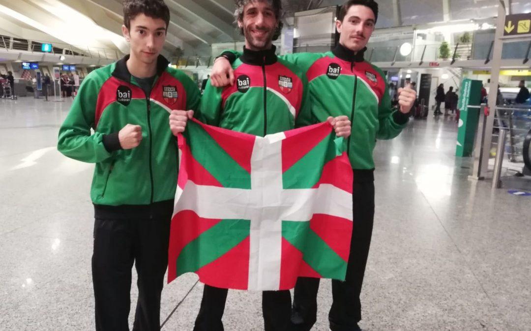 Euskal Herriko K-1 kiroleko selekzioa Rigako Munduko Txapelketara bidean