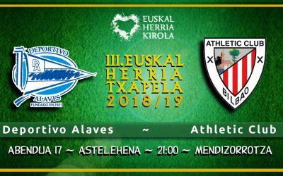 Alaves – Athletic, abenduaren 17an