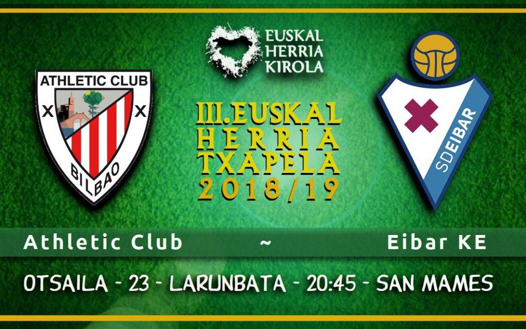 Athletic – Eibar, otsailaren 23an
