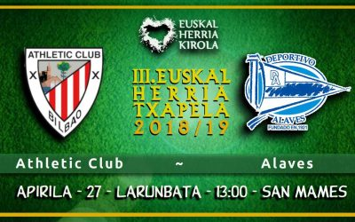 Athletic – Alaves, apirilaren 27an