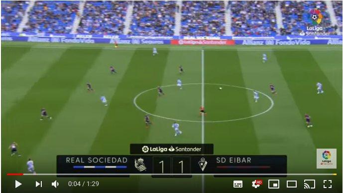 [BIDEOA] Reala 1 – 1 Eibar