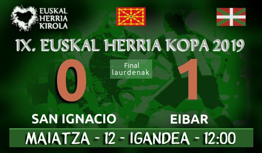 San Ignacio 0-1 Eibar