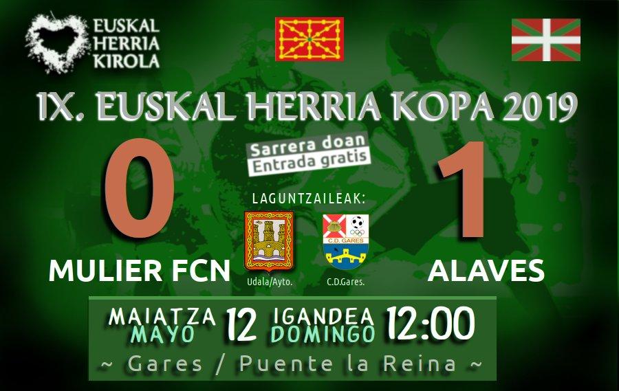 Mulier FCN 0-1 Alaves