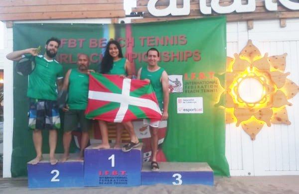 Euskal Herria beach tennis munduko txapelketan
