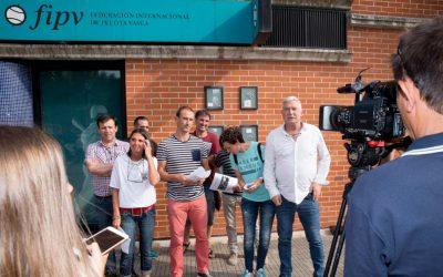 Euskal Pilotak ofizialtasuna eskatu dio Nazioarteko Federazioari