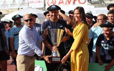 Baionako Avironek irabazi du Euskal Errugbi Liga