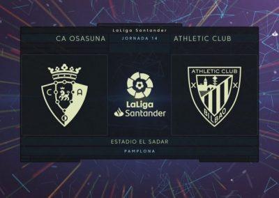 # Osasuna 1-2 Athletic partidako golak