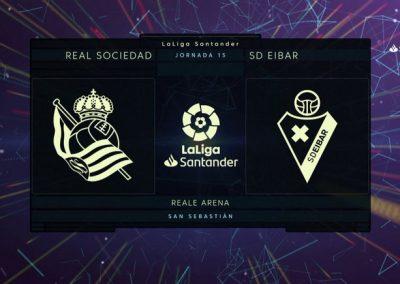 # Real Sociedad 4 – 1 Eibar, partidako gol guztiak