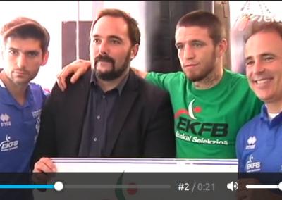 # BOXEOA. Euskadiko Federazioa, Nazioartekoaren kide berria