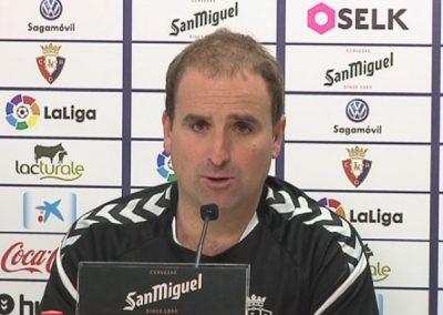 # Jagoba Arrasate: 'Ez da batere erraza Athletic mendean hartzea'