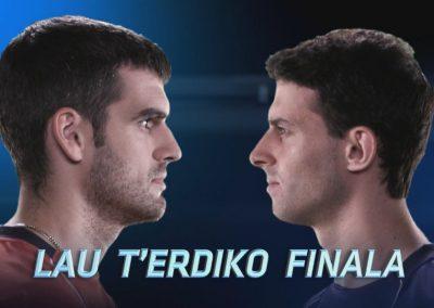 # Ezkurdia vs. Altuna, lau t'erdiko finala