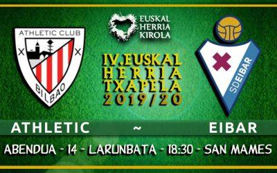 Athletic – Eibar, abenduaren 14an