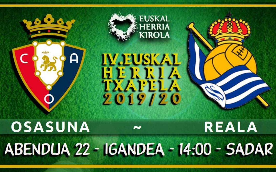 Osasuna – Reala, abenduaren 22an