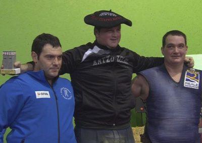 # Aimar Irigoienek irabazi du 200 kiloko lauki zuzenaren txapelketa [01:18 min.]