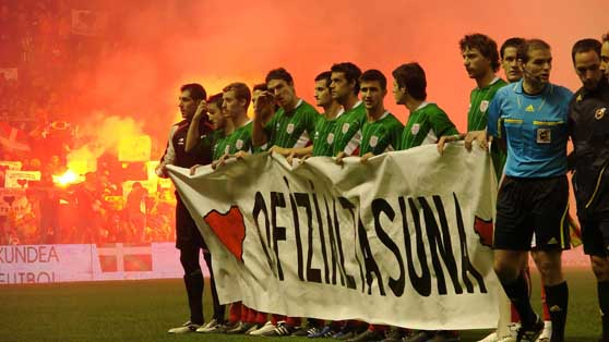 Otsaileko batzarrean baieztatuko du Euskadiko Futbol Federakundeak ofizialtasun eskaera