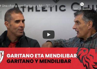 # Garitano eta Mendilibar: futbola, derbiak eta adiskidetasuna [03:05 min.]