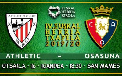 Igandean, Athletic-Osasuna
