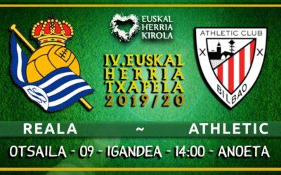 Reala-Athletic, otsailaren 9an
