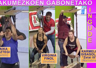 # Gabonetako ingude-jasotze txapelketa [11:25 min.]