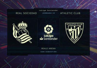 """# Reala 2-1 Athletic derbiaren laburpena eta golak (2'57"""")"""
