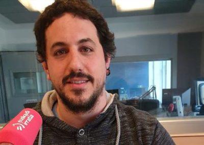 """[Audioa] Jon Lopez: """"Waterpolora euskaraz gerturatzeko tresna sortu dugu"""" (9´47´´)"""