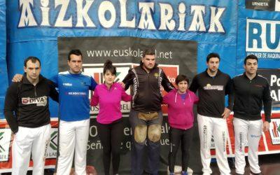 Larrañaga eta Rekondo Urrezko binakako aizkolarien finalera