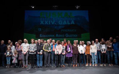 Iragan ostiralean, Euskal Mendizaletasunaren Gala izan zen Amurrion