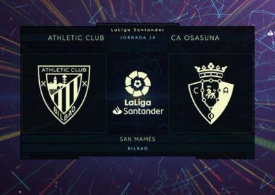 """# Athletic 0-1 Osasuna derbiko gola eta laburpena (1'58"""")"""