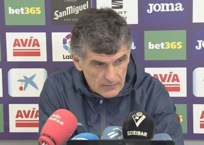 # Jose Luis Mendilibar: 'Ez Alaves eta ez gu ezin gara orain lokartu' (1'01)