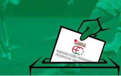 EAEko kirol-federazioen gaur egungo hauteskunde prozesuak eten egin dira