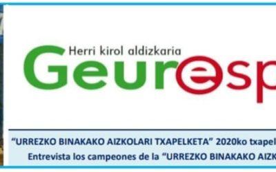 Atera berri da Geure Sport aldizkariaren bertsio digitala