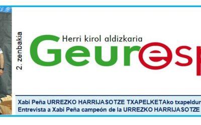 Geure Sport aldizkari digitalaren bigarren alea