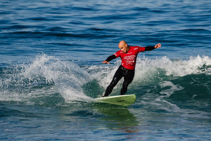 Aitor Francesena surf egokituko munduko txapelduna