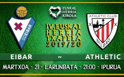 Eibar-Athletic, martxoaren 21ean