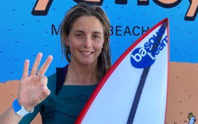Leticia Canalesek hirugarren postua lortu du Sydney Surf Pro txapelketan