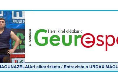 Geure Sport aldizkari digitalaren 4. alea