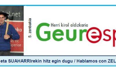 Geure Sport aldizkari digitalaren 5. alea