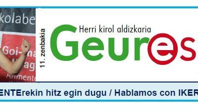 Geure Sport aldizkari digitalaren 11. alea