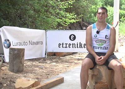 "[EiTB] Iker Vicente, plazetara itzultzeko irrikaz (1'41"")"