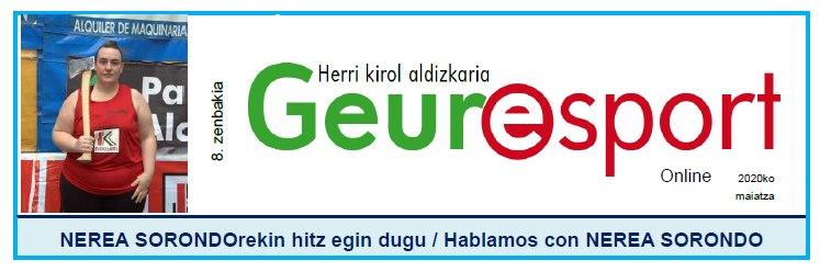 Geure Sport aldizkari digitalaren 8. alea