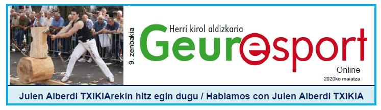 Geure Sport aldizkari digitalaren 9. alea