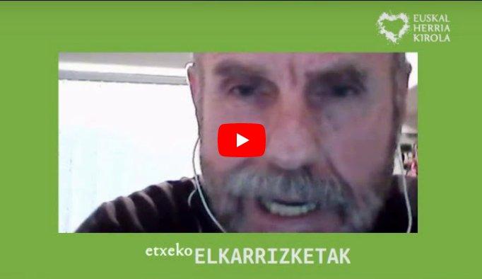 """[EHKirola] Etxeko ELKARRIZKETAK: Martxel Toledo, aurrera begira (1'22"""")"""