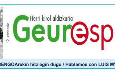 Geure Sport aldizkari digitalaren 12. alea