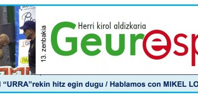 Geure Sport aldizkari digitalaren 13. alea