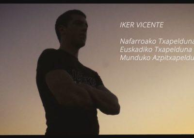"""[EiTB] Iker Vicente aizkolaria, marka berri baten bila (1'21"""")"""