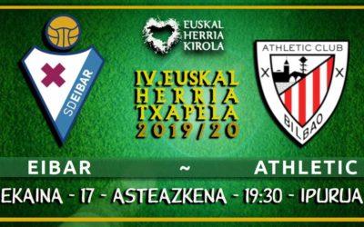 Eibar-Athletic, ekainaren 17an