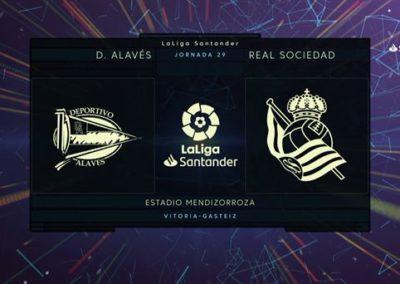 """[EiTB] Alaves 2-0 Real Sociedad partidako laburpena eta gol guztiak (2'24"""")"""